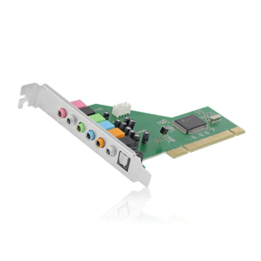 19 opinioni per Ewent EW3752 Scheda Audio PCI 7.1, Grigio
