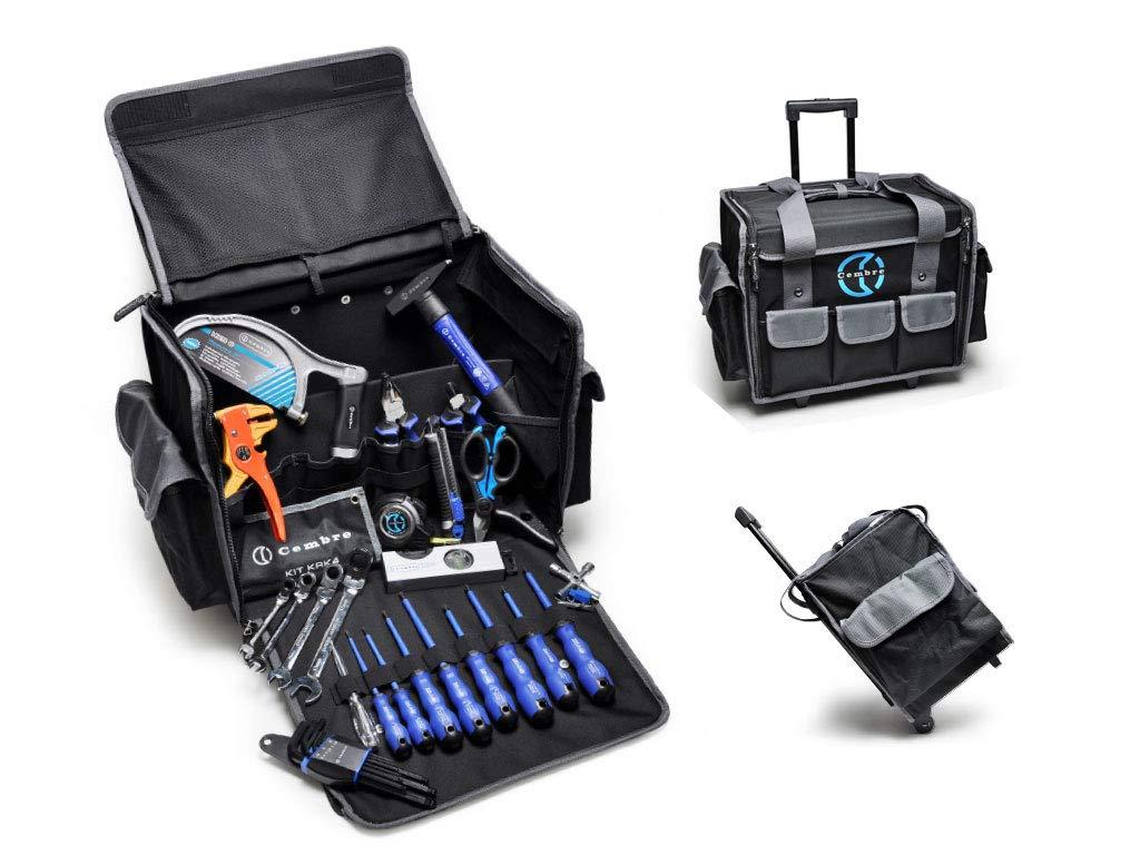 cembre trl02, 2 kit Trolley surtido cinta métrica + De ...