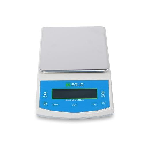 U.S. Solid 5 kg x 0,1 g Balanza electrónica de laboratorio Balanza electrónica Peso de precisión LCD: Amazon.es: Industria, empresas y ciencia