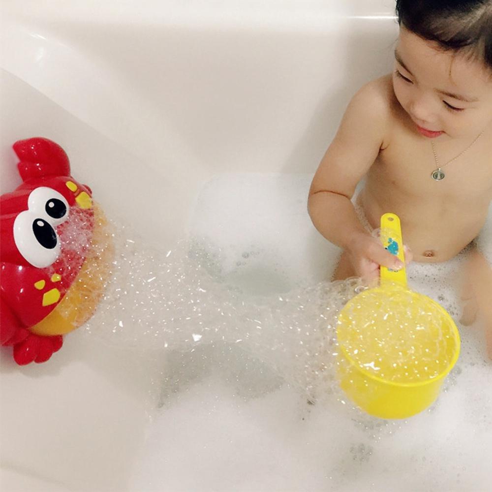 Amazon.com: Leegoal Crab Bubble Maker, Automated Spout Crab Bath ...