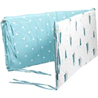 Garneck Baby Crib Bumpers Padded Bumper Bedding Bumper Cushion Baby Bed Fence for Newborn Bed Infant Bed