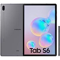 "Samsung Galaxy Tab S6 Tablet de 10.5"" (256 GB, S Pen Incluido, Pantalla sAMOLED, WiFi) Gris"