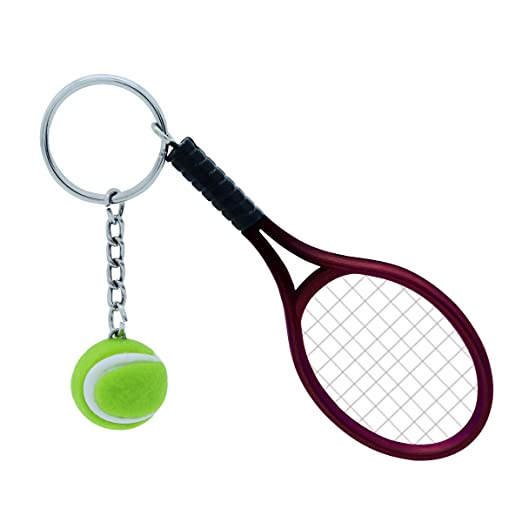 WINOMO Raqueta de tenis llavero llavero Deporte lindo ...