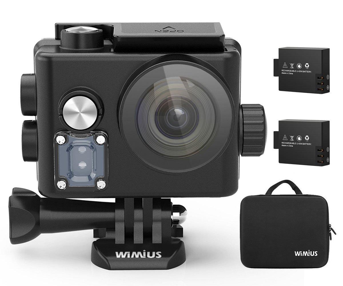 Action Camera Subacquea : Action cam wimius action cam k wifi impermeabile m fotocamera