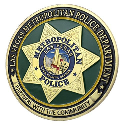 Vegas Coin - Las Vegas Metropolitan Police Department / LVMPD G-P Challenge coin 1148#