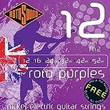 Rotosound R12 Nickel Medium Heavy Electric Guitar Strings (12 16 24 32 42 52)