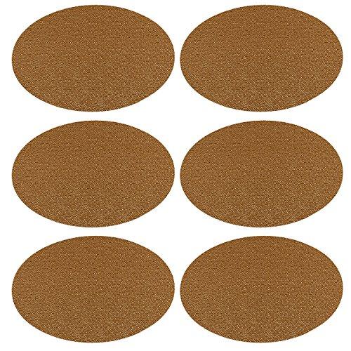 U'Artlines Placemats Set of 6,Waterproof,Soft Crossweave ...
