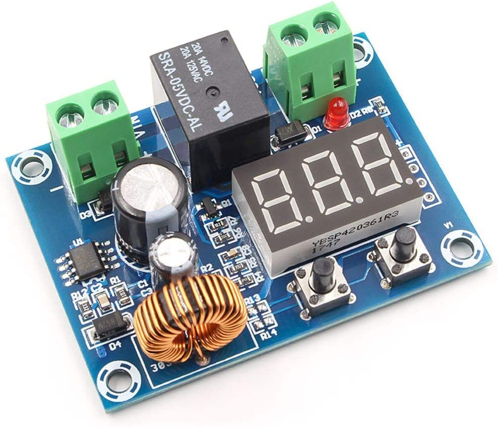 MuLuo XH-M609 DC 12V-36V Voltage Protection Module Low Voltage Disconnect Precise Undervoltage Protection Board