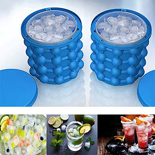 Ice Cube Maker Genie  The Revolutionary Space Saving Ice Cube Maker  Ice Genie Ice Makers Kitchen Tools