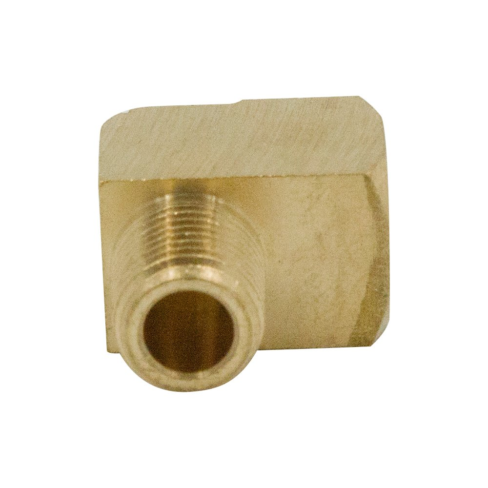 1//4 NPT Female x 1//4 NPT Male Barstock Pipe Fitting Legines Brass 90 Degree Street Elbow 5 Pcs