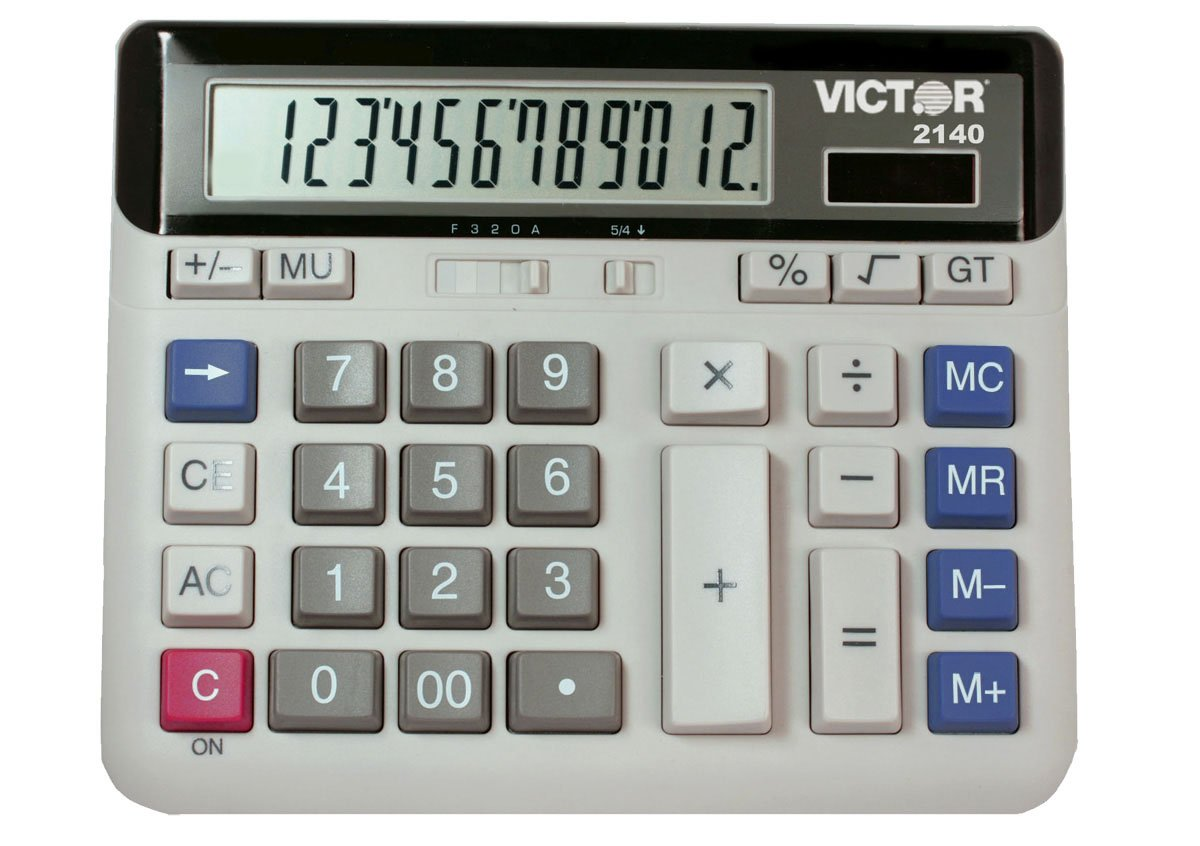 Victor 2140 Standard Function Calculator
