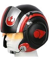 Dameron Helmet Deluxe Poe Cosplay Mask X-Wing Teens Adult SW Costume Props