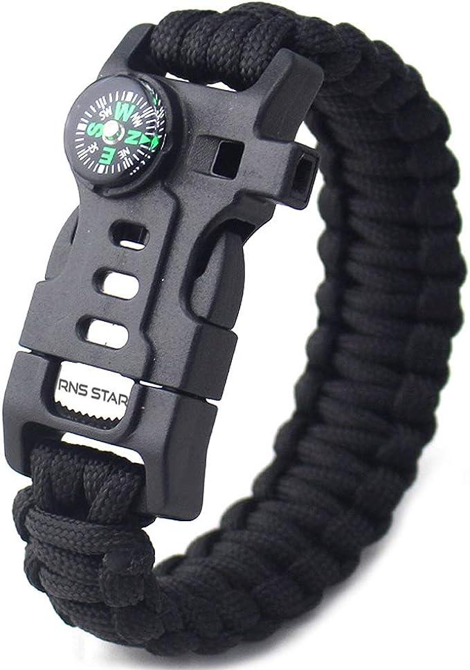 Military Provost Guard Service Badged Survival Bracelet Tactical Edge.