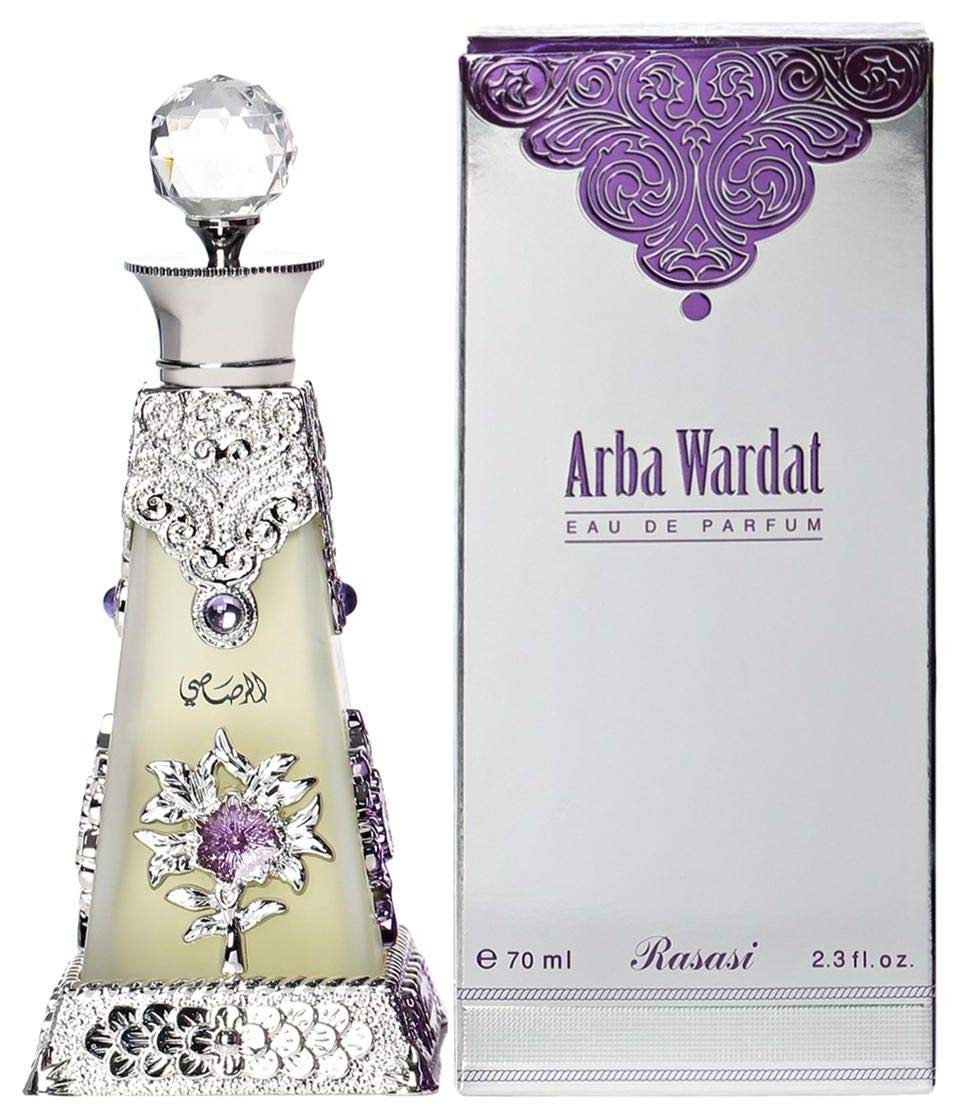 Arba Wardat Eau de Parfum by Rasasi - Spray 70ml
