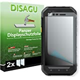 2 x DISAGU Armor screen protector for Cat S30 screen fracture protection film