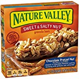Nature Valley Granola Bars, Sweet and Salty Nut, Chocolate Pretzel Nut, 6 Bars – 1.2 oz Review