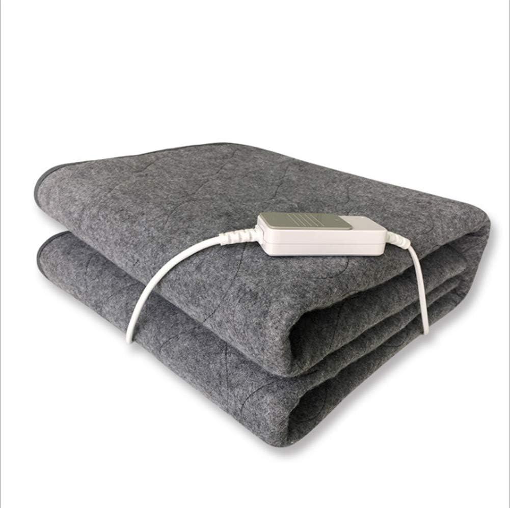 GABLA Manta eléctrica Sola Persona Control Dormitorio Estudiante Seguridad Impermeable no Tejido Mat: Amazon.es: Hogar