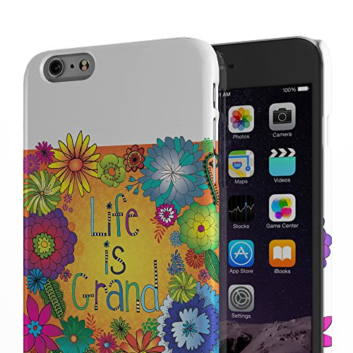 Koveru Back Cover Case for Apple iPhone 6 Plus - Life is Grand