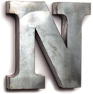 The Country House Collection Tin Letters (N)