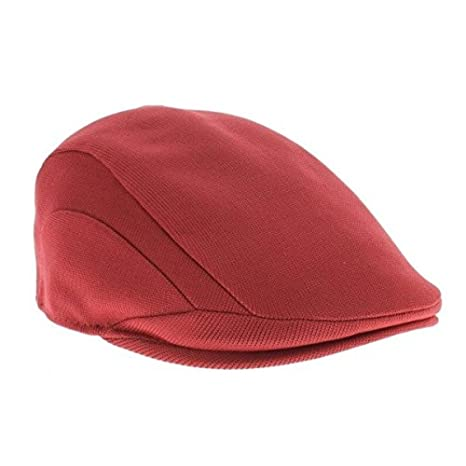 ae4c49f6566 Image Unavailable. Image not available for. Color  Kangol Tropic 507 Rust  Rustic Flat Hat ...