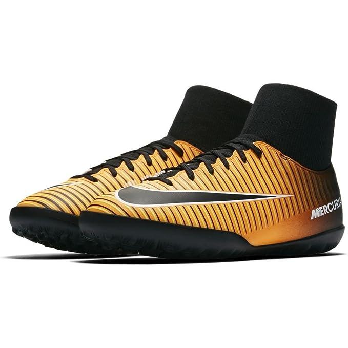 Nike Jr. Mercurialx Victory 6 DF TF Zapatillas, Niños, Amarillo ...
