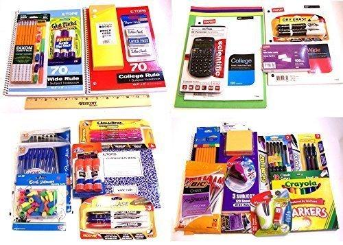 Back to School Essentials Supplies Mega School Bundle