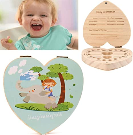 Love Heart English Kids - Organizador de cajas de dientes para ...