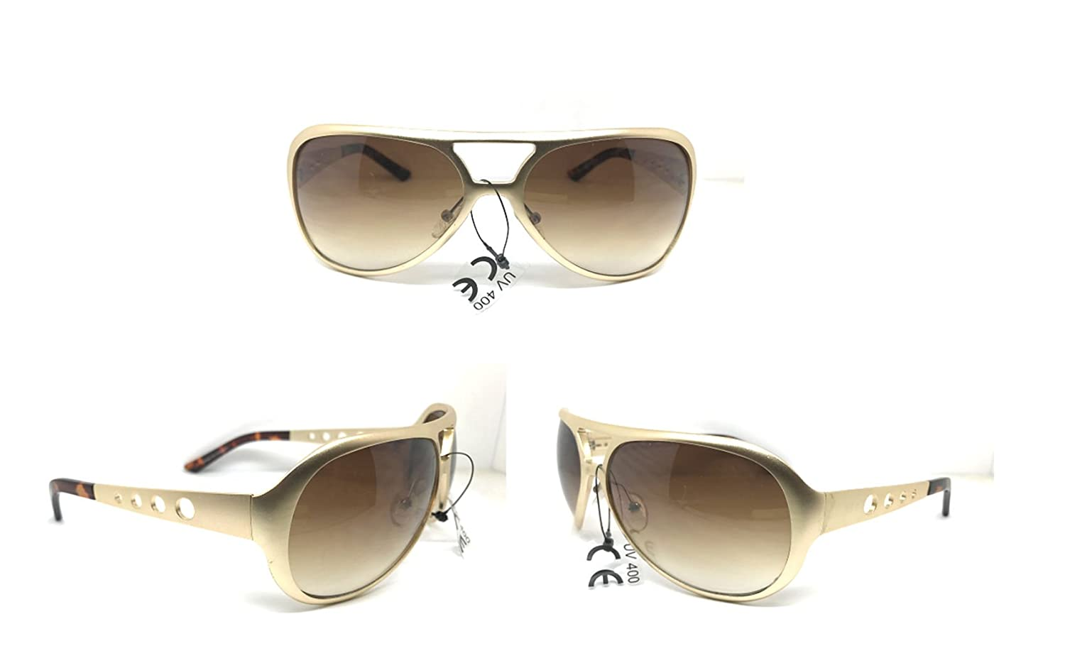 Amazon.com: elvis-sunglasses-all-metal-aviator-gold-aluminum ...