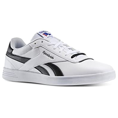 516769716f1 Reebok - Royal Slam - M49969 - Color  Black-White - Size  8.0   Amazon.co.uk  Shoes   Bags