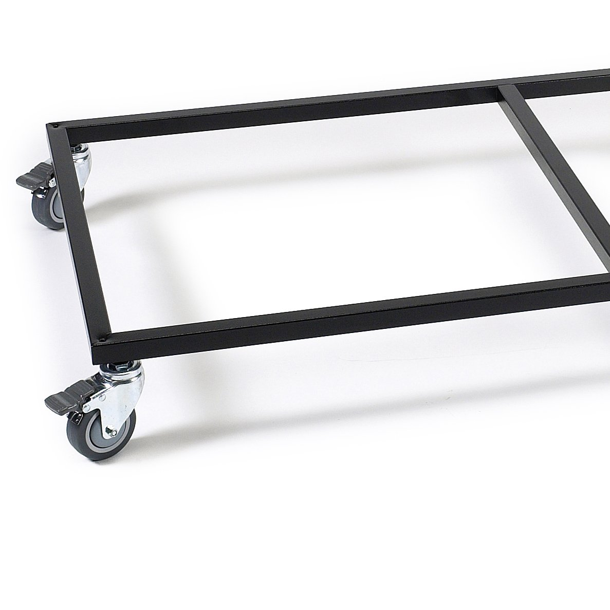 ProSelect 48-Inch Modular Pet Cage Base with Wheels, Black