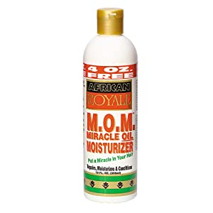 African Royale Miracle Oil Moisturizer, 12 Ounce