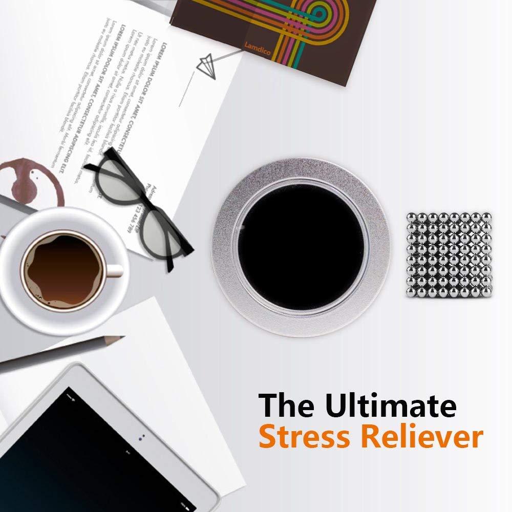 Lamdico Fidget Cube 512 Pcs,Desk Cube for Stress Relief & Creative Inspiration Include Splitter Card and Storage Bag by Lamdico (Image #5)