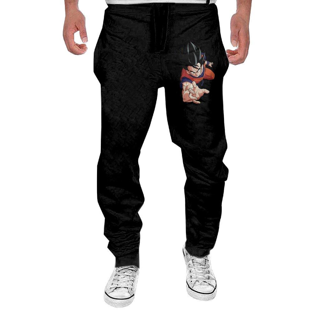Mens Dragon Ball Z Goku Sweatpants 100 Cotton