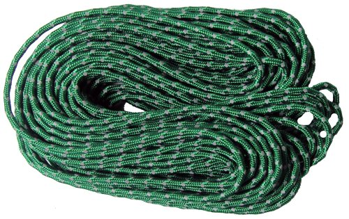 Nite Ize RR 04 50 Reflective Nylon Cord, Woven for High Strength, 50 Feet, Green