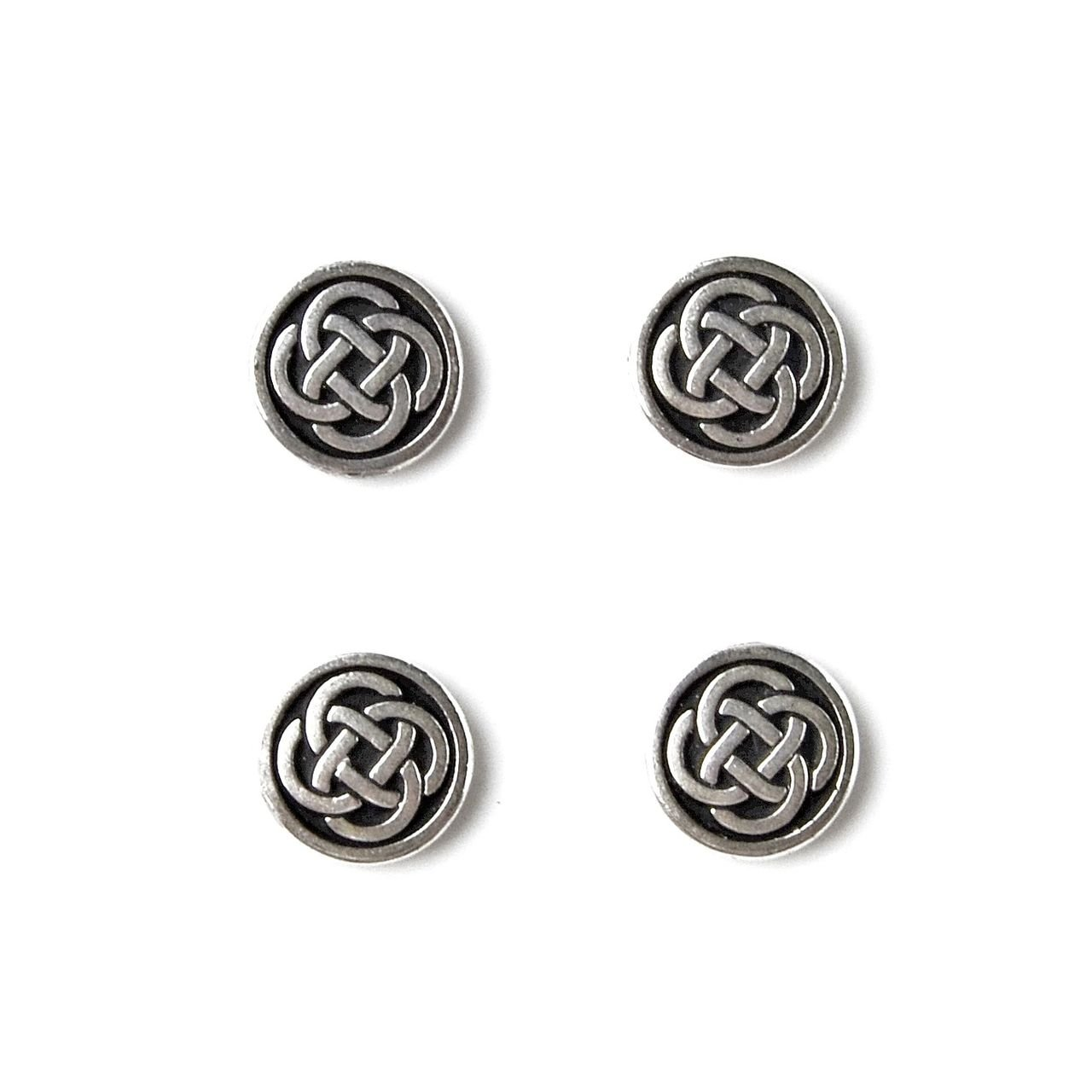 Quality Handcrafts Guaranteed Celtic Tuxedo Studs STUDS17