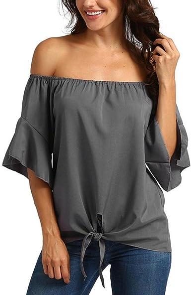 VENMO Camisetas Mujer,Tops Mujer Verano,Blusas Mujer ...