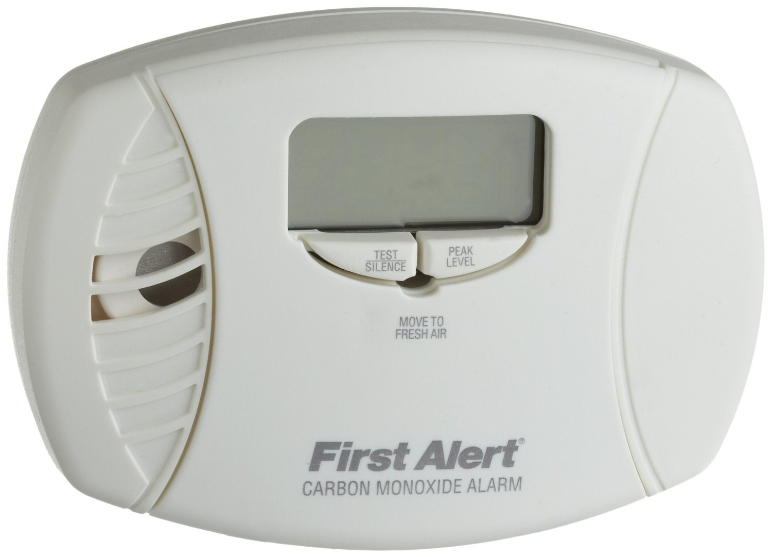 First Alert CO615 Carbon Monoxide Plug-In Alarm with Battery Backup and Digital Display (6 Pack)