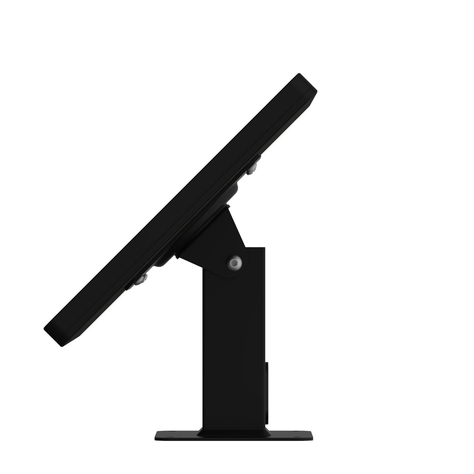 iPad (5th Gen) 9.7/Pro, Air 1/2 Black Covered Home Button Rotating & Tilting Desk/Table Mount [Bundle] by VidaMount (Image #5)