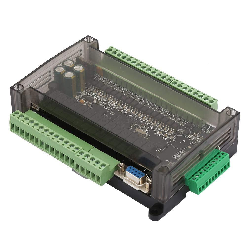 PLC Control Board, FX3U-30MR PLC Control Board Industrial Control Board 6AD 2DA with RTC RS485 RTU Communication Shell by Yanmis