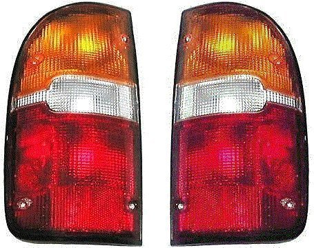 - 95 96 97 98 99 00 Toyota Tacoma Taillight Taillamp Pair Set Both Driver and Passenger