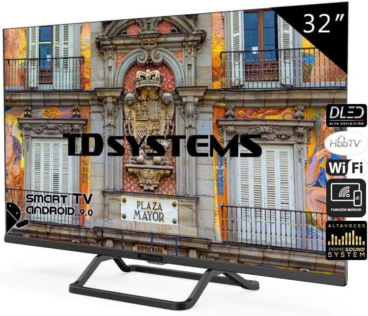 Televisores Smart TV 32 Pulgadas Android 9.0 y HbbTV / 800 PCI Hz ...