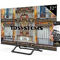 Televisores Smart TV 32 Pulgadas Android 9.0 y HbbTV / 800 PCI Hz/ 3X HDMI / 2X USB/DVB-T2/C/S2 / TD Systems K32DLX10HS / TDSystems