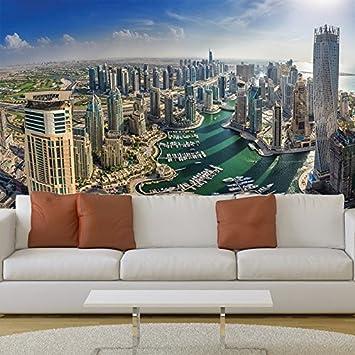 Amazoncom Dubai Cityscape Wall Mural City Skyline Photo Wallpaper