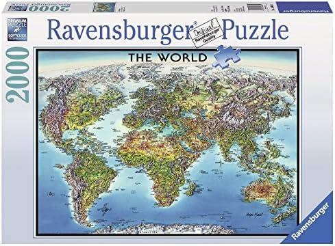 Amazon ravensburger world map jigsaw puzzle 2000 piece toys ravensburger world map jigsaw puzzle 2000 piece gumiabroncs Gallery