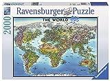 Ravensburger World Map Jigsaw Puzzle (2000-Piece)