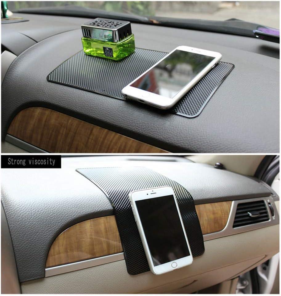 GY-honeq Anti-slip Car Dash Sticky Pads//Car Holder Sticky Pad Gadget Mat//Anti-slip Pad Magic Non-Slip Mat Car Dashboard Sticky Pad 76BB Original car pattern