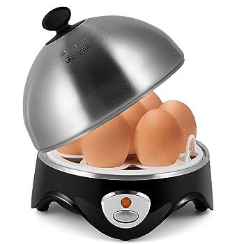 Flexzion Premium Stainless Steel Lid Egg Cooker