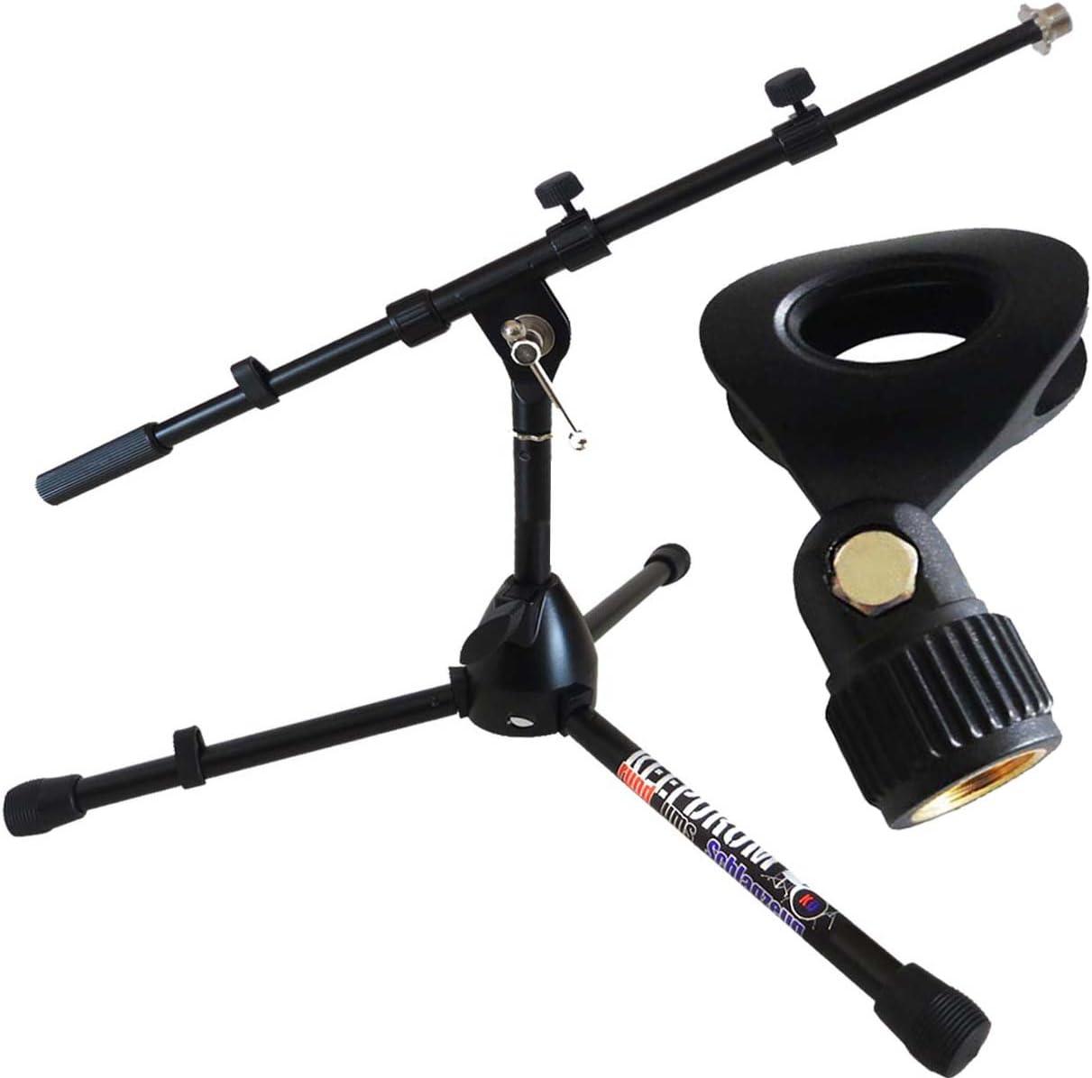 Soporte de micrófono de Keepdrum MS118B Klein en bajo diseño de ...