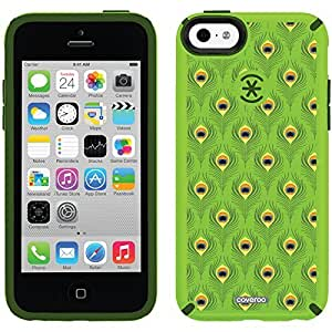 Speck iphone 6 4.7 Green CandyShell Case with Pretty Peacock Design by fashion case