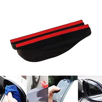 Adhesivo de PVC para espejo retrovisor de coche, protector de pantalla para protector de lluvia: Amazon.es: Coche y moto